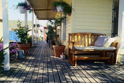 Deck of a Houseboat