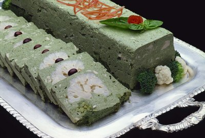 Cauliflower and green vegetable pate