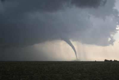 Dangerous Tornado on the Plains