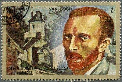Postage stamp Shiarjah & Dependencies 1972 Vincent Willem van Go