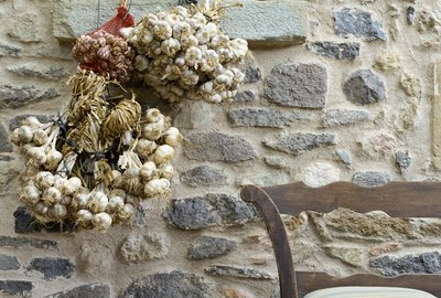 Bench and garlic