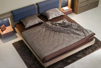 Elegant and luxury bedroom interior design.