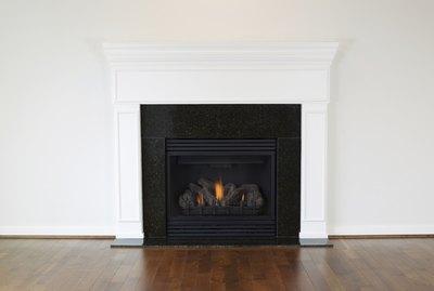 Large Natural Gas Fireplace