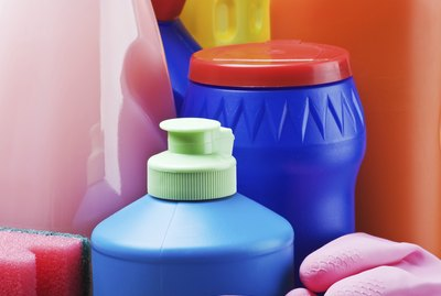 accessories and products for cleaning