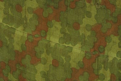 Ornate camouflage fabric