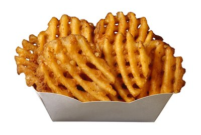 Waffle-cut french fries