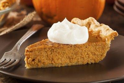 Homemade Delicious Pumpkin Pie