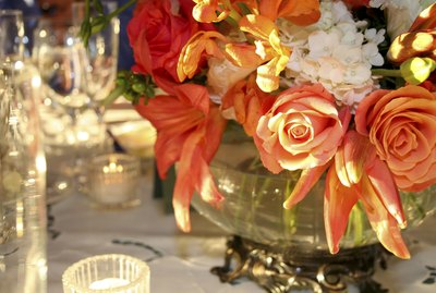 Party Flowers Centerpiece