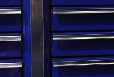 Closeup of a toolbox