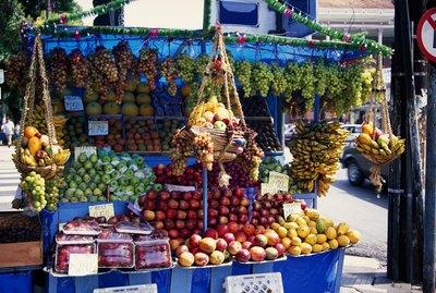 Fruit stand, Olinda, Brazil
