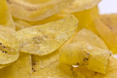 Plantain chips (mariquitas-ladybugs)