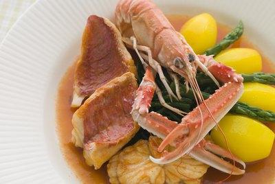 Bowl of Bouillabaisse Restaurant Style