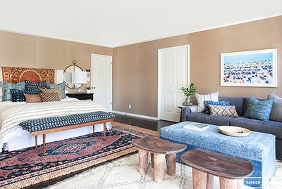 Bohemian Bedroom by Amber Interiors
