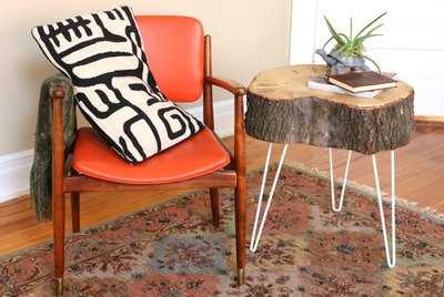 How to Make Rustic End Tables