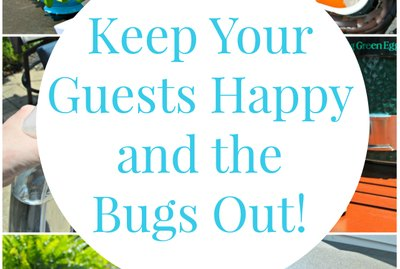 Backyard BBQ: Keep Your Guests Happy and the Bugs Out