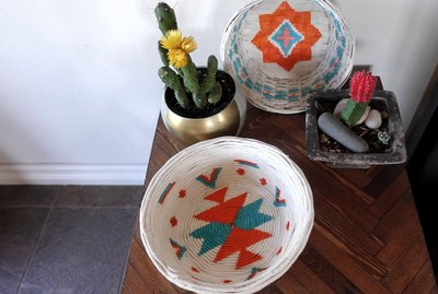 Desert-style Upcycled Baskets