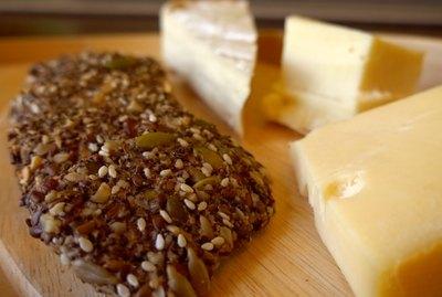 Healthy Seed & Nut Crispbread Crackers