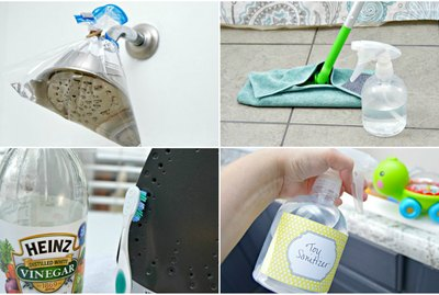 Vinegar Cleaning Hacks