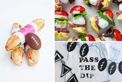 football subs, antipasti, t-shirt