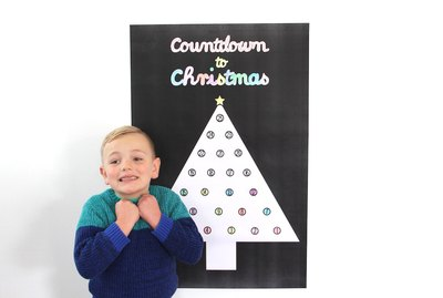 Countdown to Christmas with this printable poster.