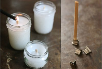 How to Make Wood Wicks for Candles