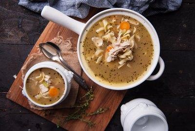 Homemade Turkey Soup Recipe Using a Leftover Carcass