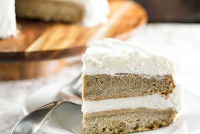 Vanilla Latte Ice Cream Cake