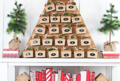 Create a Beautiful Wooden Tree Advent Calendar