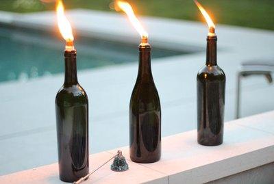 wine tiki torch