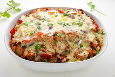Spicy, Juicy, Gooey Southwest Chicken Casserole Recipe