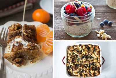 Overnight Recipes to Make Breakfast Easy
