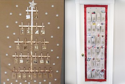 Two easy Advent calendars