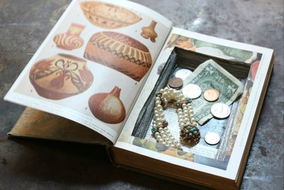 How to Turn a Hardcover Book Into a Hidden Safe