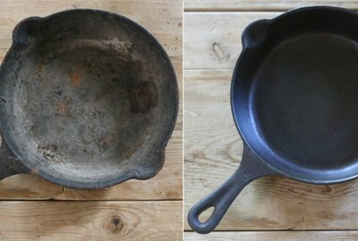 How to Clean & Restore a Cast Iron Skillet