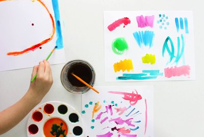 How to make watercolor paints that are safe for kids