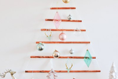 DIY Copper Pipe Christmas Tree
