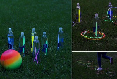 Glow-in-the-dark games