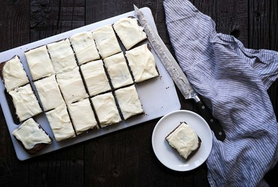 Cream Cheese Frosted Brownies Recipe