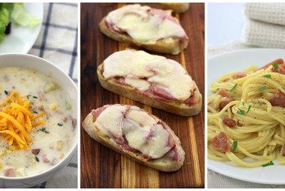 3 easy family meals using leftover ham