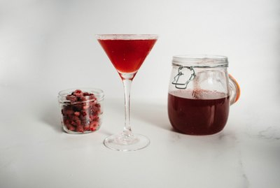 This delicious Raspberry infused Vodka is made only with real fruit so it has the most strong and fruity taste!