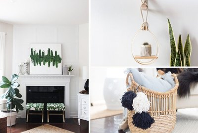 10 DIYS to Take Your Living Room to the Next Level