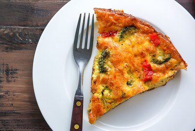 Broccoli Cheddar Frittata Recipe