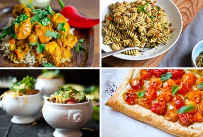 4 spicy dishes