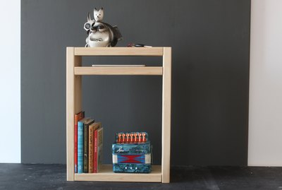 A simple, modern nightstand