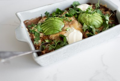 This Enchilada Tray Bake is a guaranteed crowd pleaser.