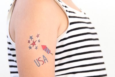 Fun tattoos for your 4th