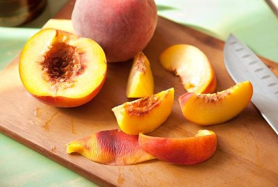 Fresh Cut peaches