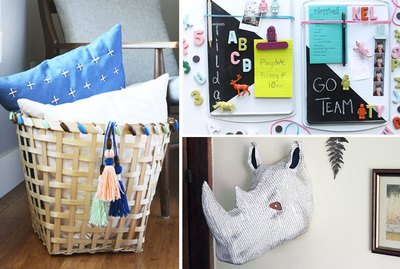 Fun Playroom DIY Projects