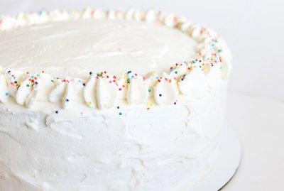 Classic bakery cake