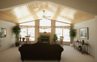 Vaulted Vs. Cathedral Ceilings (with Pictures) | eHow